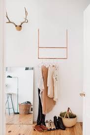small space solution 15 diy garment racks
