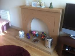 picture of fake fireplace