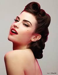 tutorial vine look to glam swirl hair designs pin up pinup makeup 25 best ideas