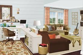 ... Living Room Office Ideas Images Turned Home On Pinterest Office Ideas  Artistic Style Interior Modern Comfortable ...