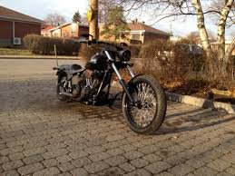 pics of raked softails please put them up page 3 harley