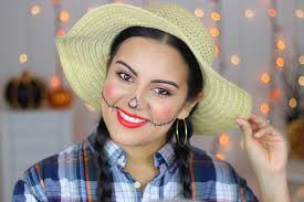work friendly scarecrow makeup tutorial i wanted to create an easy look that literally anyone can do whether you are a makeup expert or a busy person who