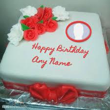 Birthday Gift Cake With Name Editor So Beautiful