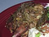 baked pheasant in wine sauce