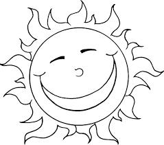 Sun Template Printable Sun For Colouring Dawnaldermandesign Co