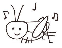 コオロギのイラスト虫 ゆるかわいい無料イラスト素材集