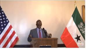 Wasiir Faratoon Oo Sheegay In Maraykanku Ku Canaantay In Aanay Qaddiyadda  Somaliland Iib Gayn - Sayruuq News