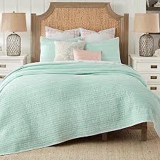 Coastal Bedding - Bed Bath & Beyond & image of Coastal Living® Sand Script Quilt Set Adamdwight.com