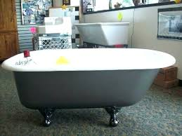 refinishing clawfoot tub feet 14265 buffalo