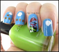 Super Mario Bros. Nail Art - Lazy Betty