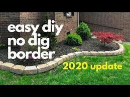 no dig edging around their gardens