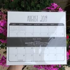 17 Month Calendar