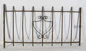 wrought iron fence victorian. In This Auction We Have A Victorian Era Piece Of Wrought Iron Fence Dating  To The 19th Century, Said Once Been Part Child\u0027s Burial Site. Victorian K