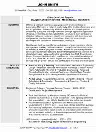 Resume Format For Diploma In Mechanical Engineering Awesome