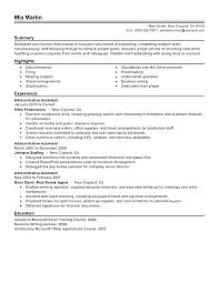 Resume Administrative Assistant Objective Examples Resume Pro Beauteous Objective Resume Administrative Assistant