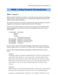 Writing Effective Thesis Statements For Essays On Friendship
