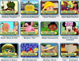 get free disney junior full episodes of disney cartoons