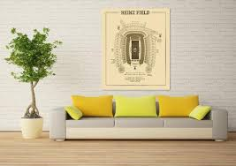 Heinz Field Seating Chart Print Of Vintage Heinz Field Seating Chart Seating Chart On Photo Paper Matte Paper Or Canvas