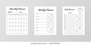 Planner Sheet 288 968 Planner Images Royalty Free Stock Photos On Shutterstock