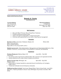 Gallery Of Sample Resume For Fresh Graduate Without Work