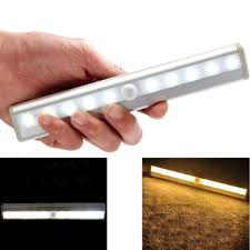 How To Make Led Lights Stick Us 7 56 Diy Stick On Anywhere 10 Led Wireless Motion Sense Cabinet Led Night Light In Led Bulbs Tubes From Lights Lighting On Aliexpress Com