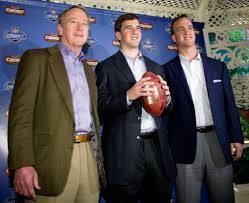 peyton manning wife. Two Generations Of Quarterbacks: Archie, Eli And Peyton Manning Meet The Media At Tavern Wife