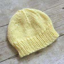 Free Knitting Patterns For Baby Hats New Design Ideas