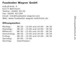 Alle tankstellen in wehrheim mit adressen und öffnungszeiten in wehrheim z.b. ᐅ Offnungszeiten Fussboden Wagner Gmbh Industriestr 4 In Wehrheim