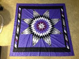 30 best Star Quilts images on Pinterest | Baby girls, Baby ideas ... & Radiant Purple Baby/Toddler throw Star Quilt by HandmadebyMissBlue, $200.00 Adamdwight.com