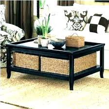 wicker basket table coffee table with basket coffee tables with wicker basket storage coffee table with