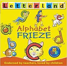 Letterland Chart Alphabet Frieze Letterland Letterland S Amazon Co Uk