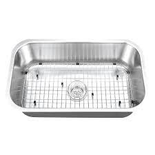undermount single bowl kitchen sink inch stainless steel offset single bowl kitchen sink kraus forteza 32
