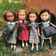 diy doll construction aka doll hacking sees the faces of bratz dolls repainted in a down to earth style taking control over the beauty standards sold