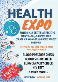 Health Expo Health Expo Pretoria City Sda Church