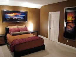 Mens Bedroom Color Masculine Bed With Great Combination Of The Bed By Applying Blue