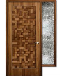wooden door design. Simple Wooden Teak Wood Finish Wooden Door With Window 8feet Height On Wooden Door Design 0