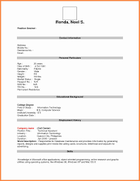 Resume Sample For Job Application Pdf Phenomenal How To Form A