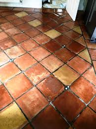deep cleaning dirty terracotta tiling in great holm milton keynes