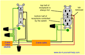 half switched schematic wiring diagram all wiring diagram wiring diagrams for switched wall outlets do it yourself help com basic electrical schematic diagrams half switched schematic wiring diagram