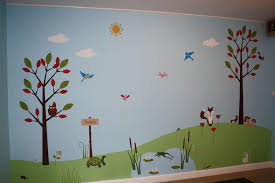 Marvellous Wall Murals For Kids Pics Decoration Ideas