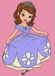 Small Picture Disney Coloring Pages Princess Sofia Coloring Pages