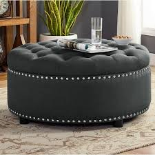 30 inch round ottoman coffee table