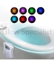 grundig led toilet bowl light color
