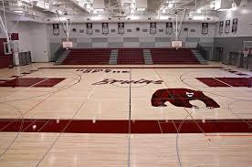 high school gym. Riverbank High School Gym And Track