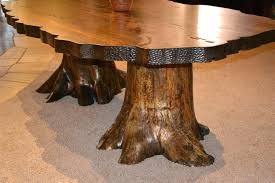 dining table tree stump dining table for uk trunk glass table with tree stump base