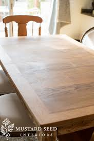 when i stripped and sanded the top i learned that the top wasn t solid wood as i thought it s a very thin veneer that is chipped patched and worn away