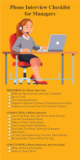 Interview Tips Phone Interview Tips For Managers Triad Engineering Corp