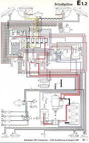 vw wiring diagrams 1968 usa