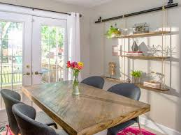 how to makeover a dining room table