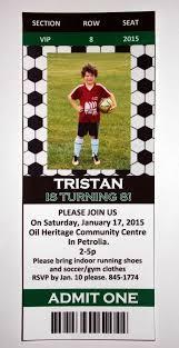 Free Football Invitation Templates Free Soccer Party Invitation Templates Soccer Party